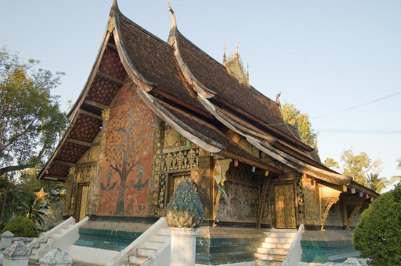 Things to do Laos Luang Prabang Wat Xieng Thong